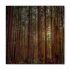 Huzurlu Orman Temalı Bandana Fular