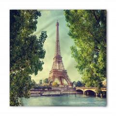 Eyfel Kulesi Manzaralı Bandana Fular