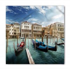 Venedik'te Gondol Gezisi Temalı Bandana Fular