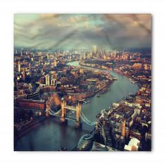 Gün Batımında Londra Temalı Bandana Fular