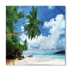 Ada ve Gökyüzü Manzaralı Bandana Fular