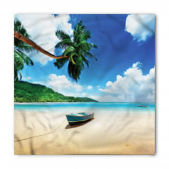 Kumsaldaki Tekne Temalı Bandana Fular