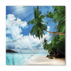 Egzotik Kumsal Manzaralı Bandana Fular