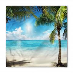 Egzotik Adada Yaz Coşkusu Temalı Bandana Fular