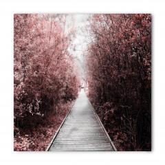 Ağaçlı Parkta Yürüyüş Temalı Bandana Fular