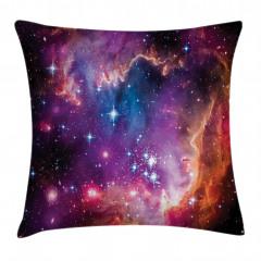 Samanyolu Galaksisi Yastık Kırlent Kılıfı