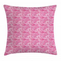 Zebra Desenli Yastık Kırlent Kılıfı