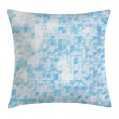 Mozaik Desenli Yastık Kırlent Kılıfı