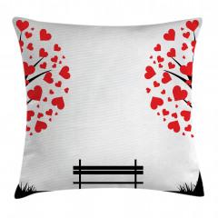 Aşk Ağacı Temalı Yastık Kırlent Kılıfı