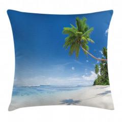 Tropik Ada Yastık Kırlent Kılıfı