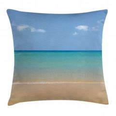 Egzotik Kumsal Yastık Kırlent Kılıfı