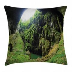 Güneş Işığı ve Mağara Yastık Kırlent Kılıfı