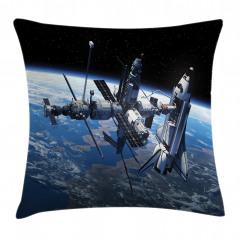 Uzayın Büyüsü Yastık Kırlent Kılıfı