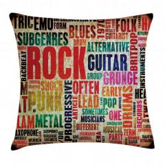 Rock Tutkusu Yastık Kırlent Kılıfı
