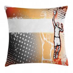 Basketbol Sevdası Yastık Kırlent Kılıfı