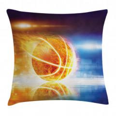 Alev Alan Basket Topu Yastık Kırlent Kılıfı