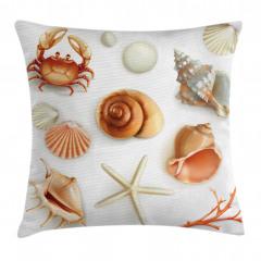 Deniz Canlıları Yastık Kırlent Kılıfı