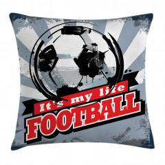 Futbol Nostaljisi Yastık Kırlent Kılıfı