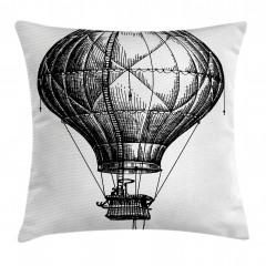 Sıcak Hava Balonu Yastık Kırlent Kılıfı