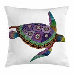 Deniz Kaplumbağası Yastık Kırlent Kılıfı