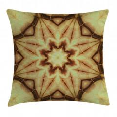 Yıldızlı Batik Desenli Yastık Kırlent Kılıfı