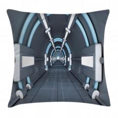 3D Etkili Yastık Kırlent Kılıfı