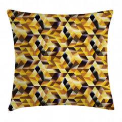 Geometrik Mozaik Yastık Kırlent Kılıfı