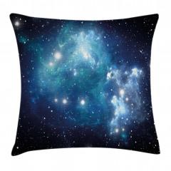 Evren ve Galaksi Yastık Kırlent Kılıfı