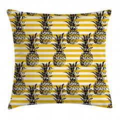 Ananas Desenli Yastık Kırlent Kılıfı