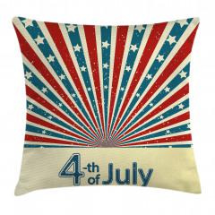 Amerika Özgürlük Günü Yastık Kırlent Kılıfı