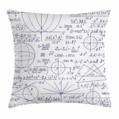 Matematik ve Geometri Yastık Kırlent Kılıfı