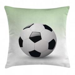 3D Etkili Futbol Topu Yastık Kırlent Kılıfı