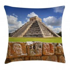 ABD Yerlisi Piramidi Yastık Kırlent Kılıfı