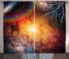 Sonsuzluk ve Gökyüzü Fon Perde Uzay Gökyüzü
