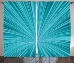 Mavi Girdap Desenli Fon Perde 3D Etkili Şık
