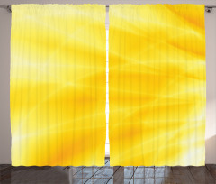 Gün Doğumu Temalı Fon Perde Sarı Dalga Işık