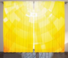 Sarı Arka Planlı Fon Perde Dekoratif Şık