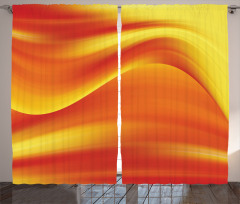 Işık Dalgası Desenli Fon Perde Modern Sanat Şık Tasarım Trend
