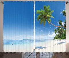 Tropik Ada Fon Perde Tropikal Ada