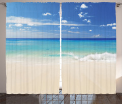 Kumsala Vuran Dalgalar Fon Perde Kumsalda Dalgalar Okyanus Beyaz
