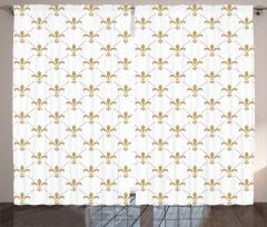 Zambak Duvar Kağıdı Fon Perde Beyaz