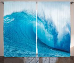 Okyanus Dalgaları Fon Perde Okyanus Dalgaları Sörf Mavi