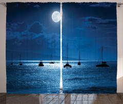 Ay Işığında Yolculuk Fon Perde Ay Işığında Yolculuk Temalı