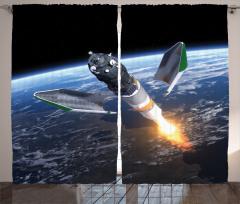 Uzayın Derinlikleri Fon Perde Dünya Kozmos Mavi