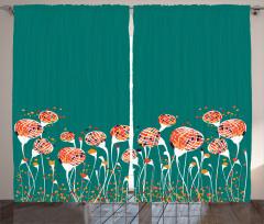 Bahar Tomurcukları Fon Perde Rengarenk Bahar Tomurcuklar