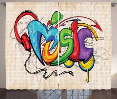 Rengarenk Sokak Sanatı Fon Perde Sokak Sanatı Temalı Müzik