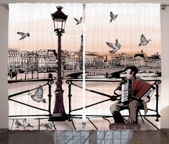 Kara Kalem Paris Fon Perde MüzikTuruncu
