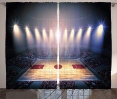 Basketbol Işığı Fon Perde Arena Işıklar