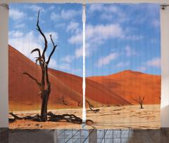 Namibya Çöl Manzarası Fon Perde Çöl Manzaralı Namibya