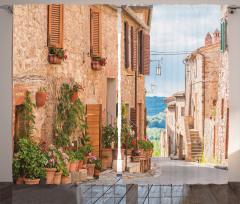 Eski Akdeniz Kasabası Fon Perde Eski Akdeniz Kasabası